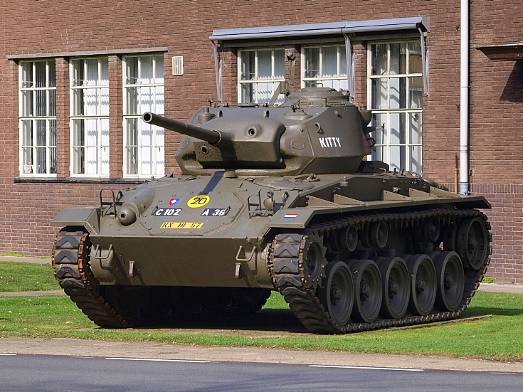 M24 Chaffee named 'Kitty'