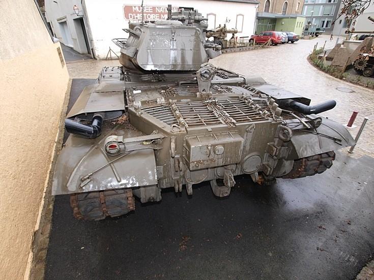 M47 Patton in Diekirch