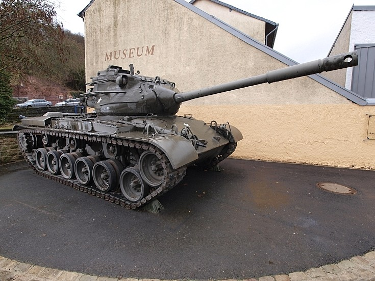 M47 Patton at National Museum of Military History