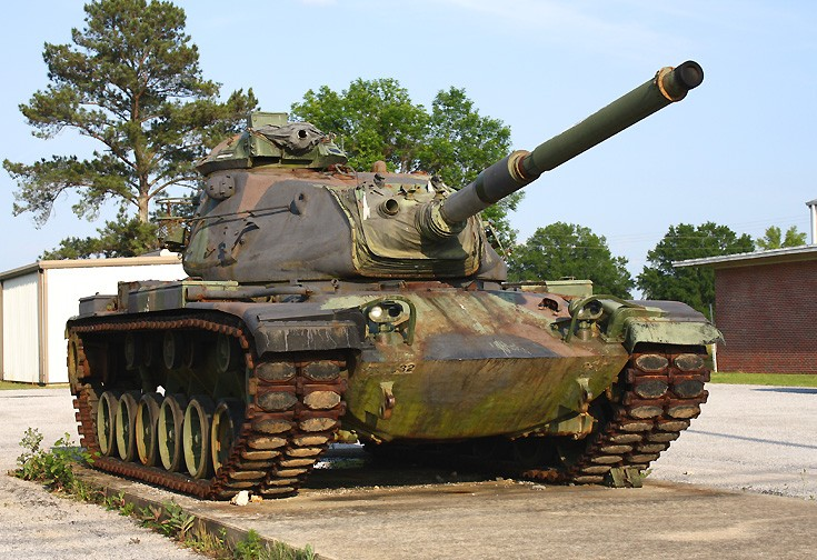 Atalla, Alabama Patton Tank