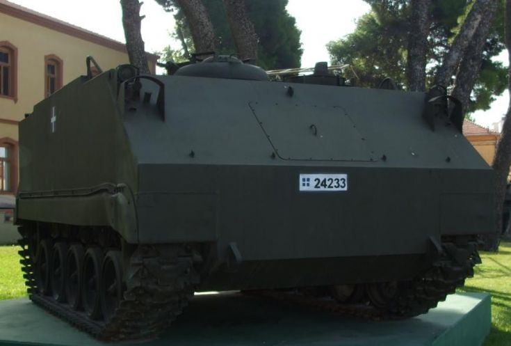 Greek armored personnel carrier