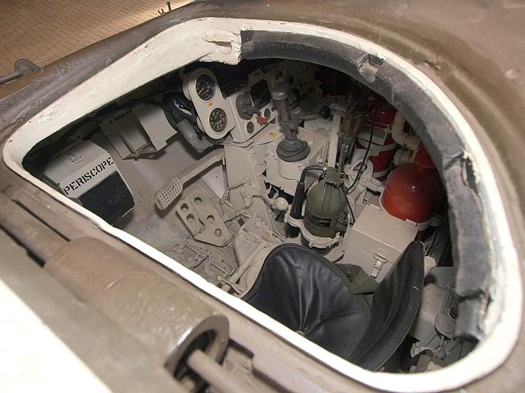 Driver seat M47 Patton