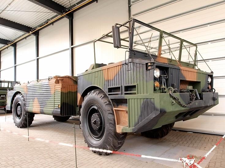 Amphibious Fuel Tanker