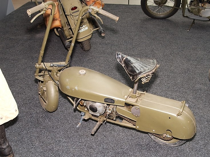 Unknown 2nd WW motorbike