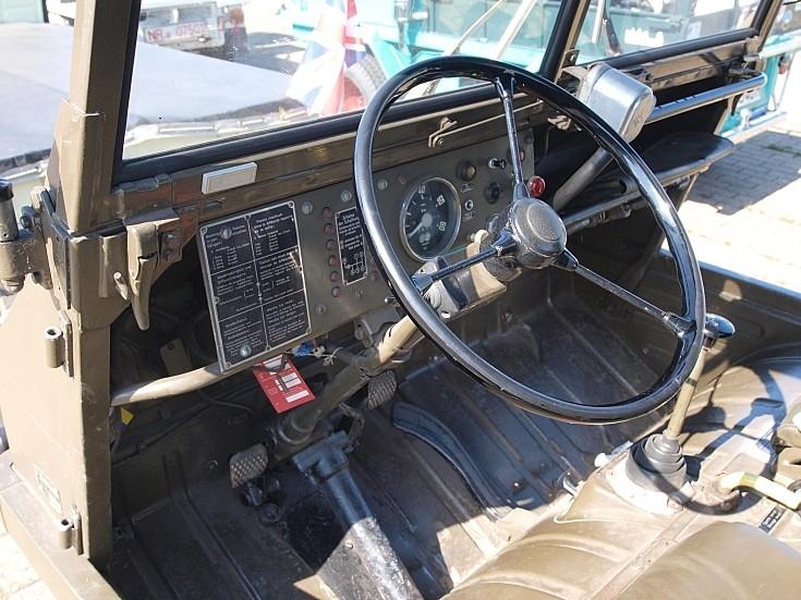 Cockpit of a Steyr-Puch Haflinger