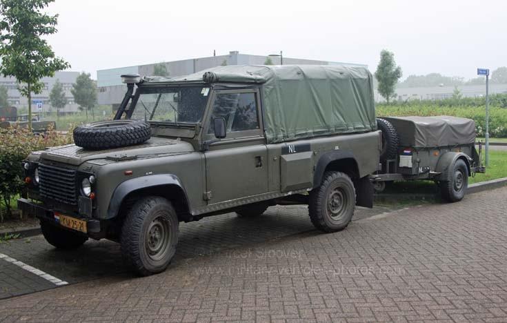 Military Vehicle Photos Dutch Marines Land Rover
