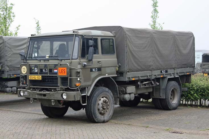DAF Troop carrier Dutch army