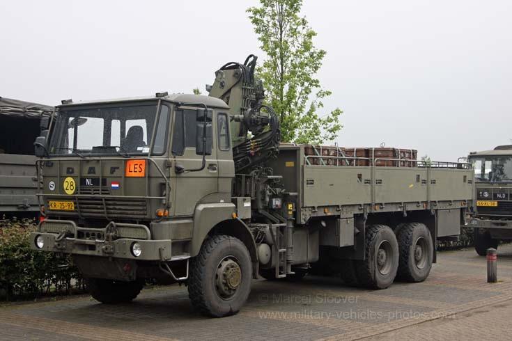 Koninklijke Landmacht DAF truck