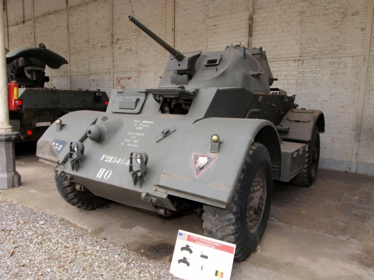 T17E1 Staghound I Armoured Car