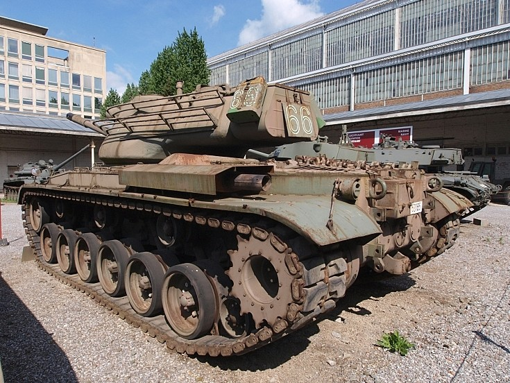 M47 Patton II in Brussels, Belgium