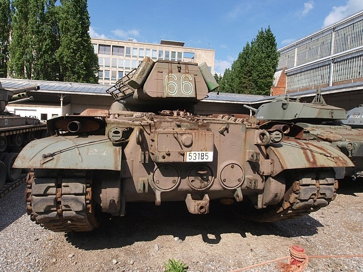 M47 Patton II at Belgian museum