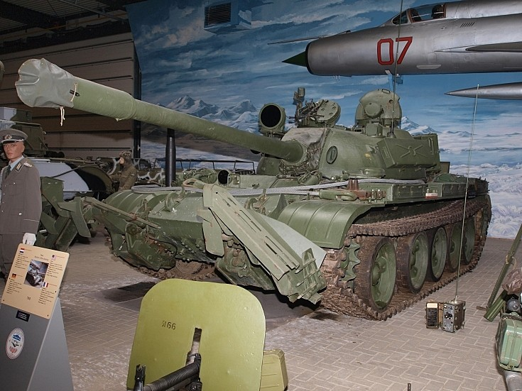 T55 with mine-clearing