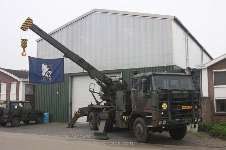 DAF recovery truck Dutch army