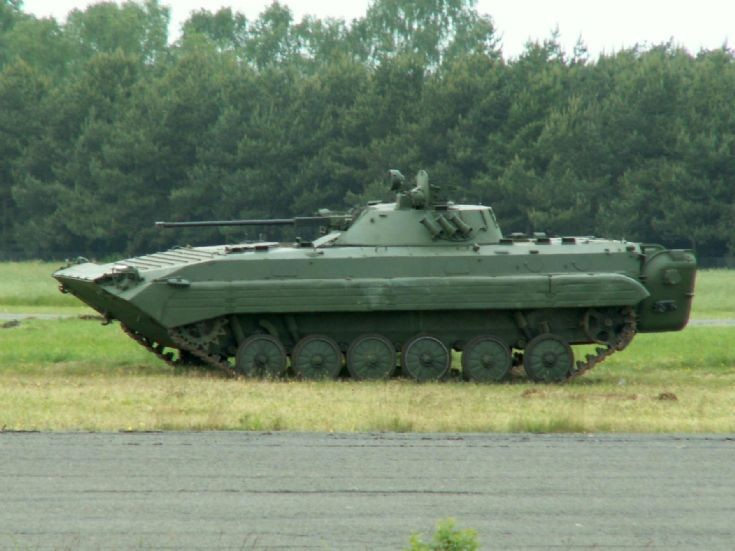 AMX10 as target (actualy a BMP-2)