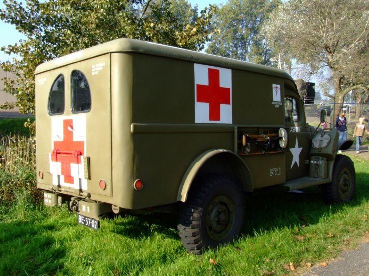 Old US Army ambulance