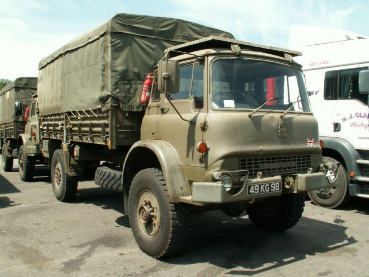 Bedford military truck
