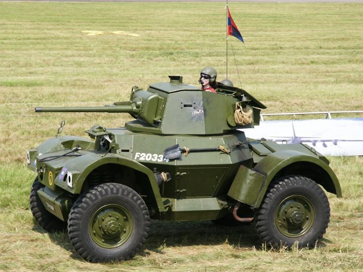 Daimler Mk1 Heavy Armoured Car