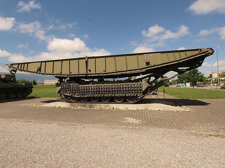 Centurion Bridgelayer at Thun Army museum