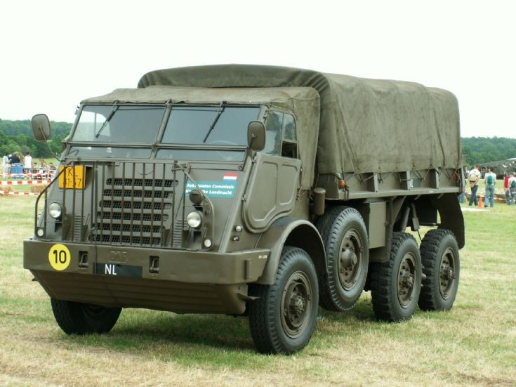 DAF six wheeler