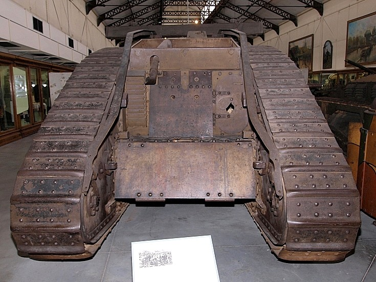 Mark IV Male at museum