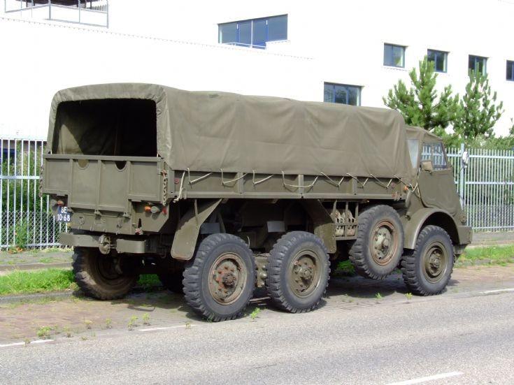 DAF YA-328 classic truck