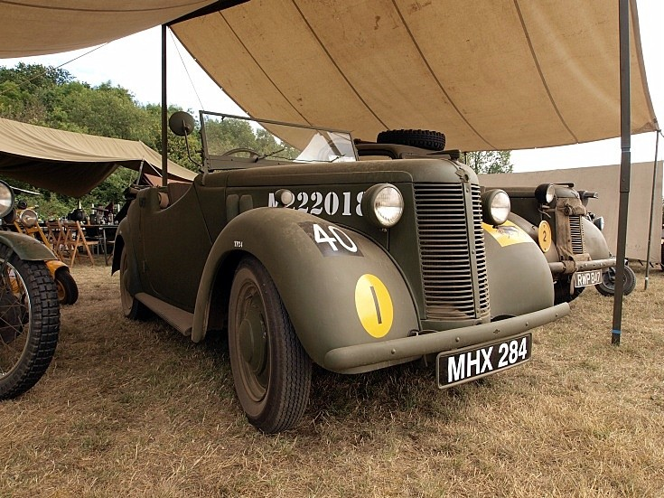 Austin 8 Staff car at War & Peace Show