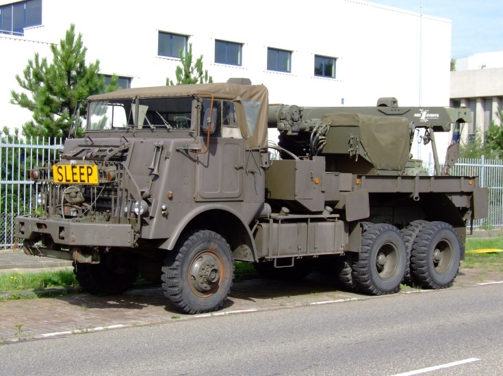 DAF YB-616 classic Dutch army truck