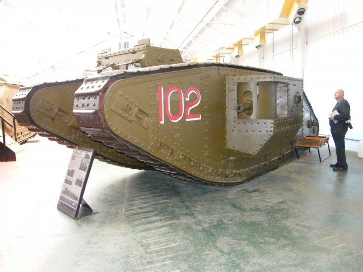 British MkIV Tank
