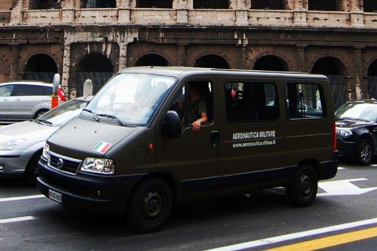 Aeronautica Militare Fiat van