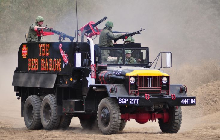 M54 REO Gun Truck ' The Red Baron'