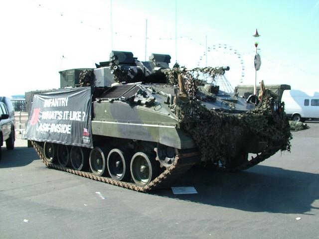 FV510 Warrior Infanry Fighting Vehicle