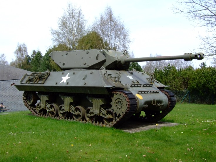 WW II US Tank Destroyer at Arlon
