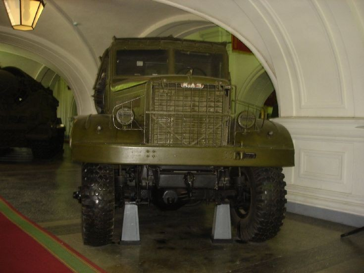 2P5 (BM-25) on KrAZ-214 chassis