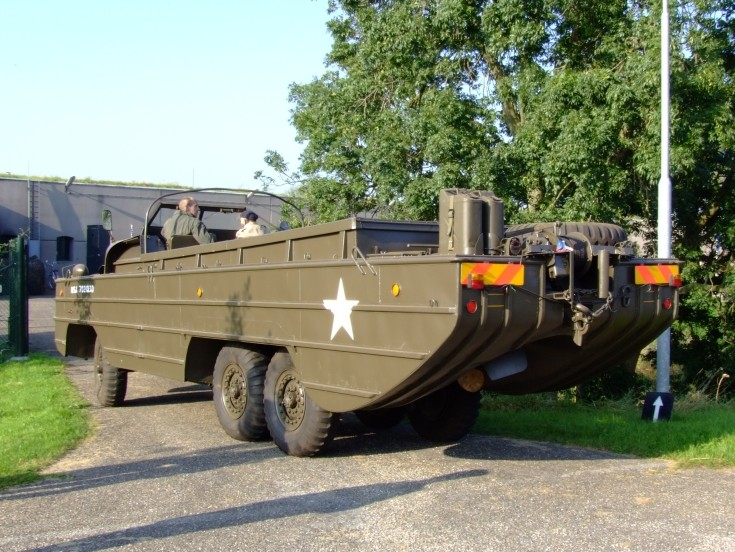 Military Vehicle Photos - DUKW - or Duck - historic amphibious truck