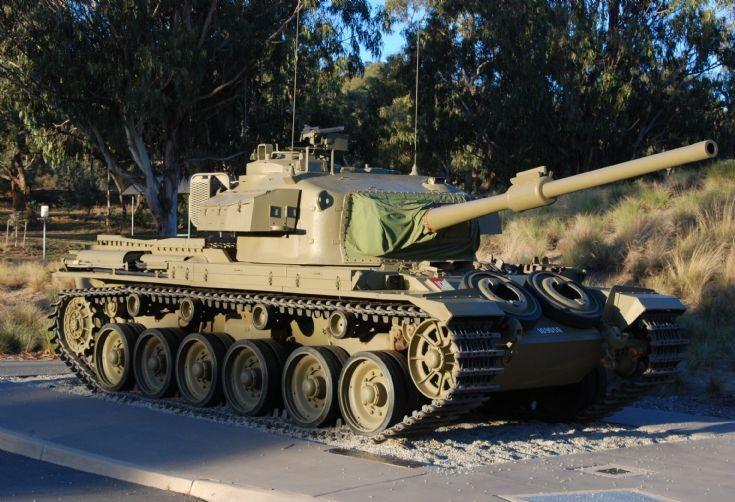 Centurion Tank No. 169056
