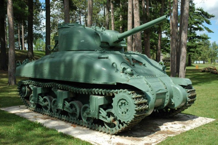 Canadian Grizzly M4A1 tank