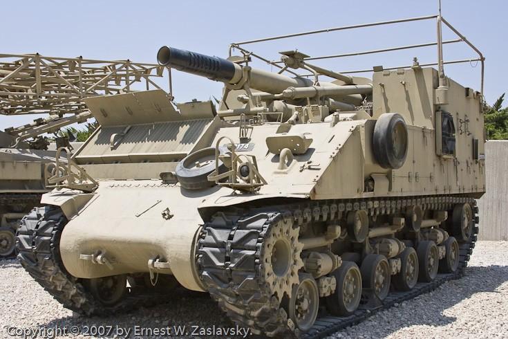 Sherman M-50 self-propelled gun