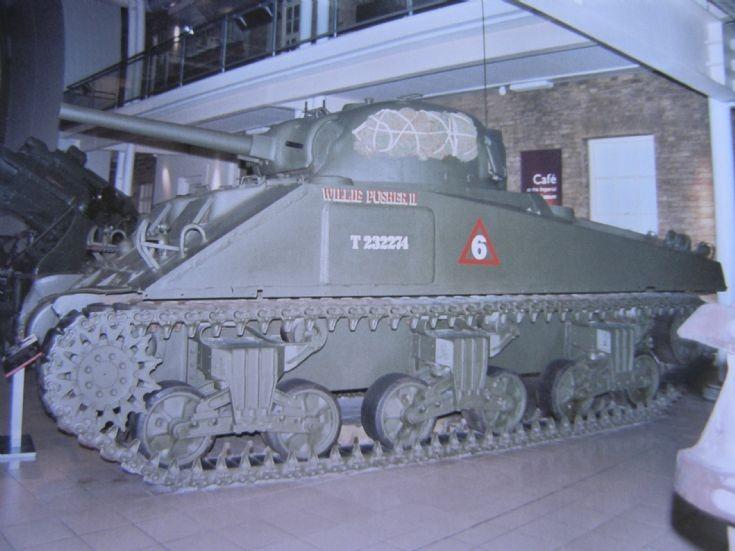 M4A4 Sherman V Tank