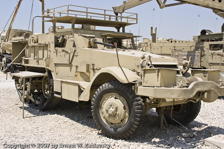 Half track with