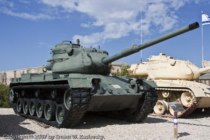 M47E1 Patton Tank