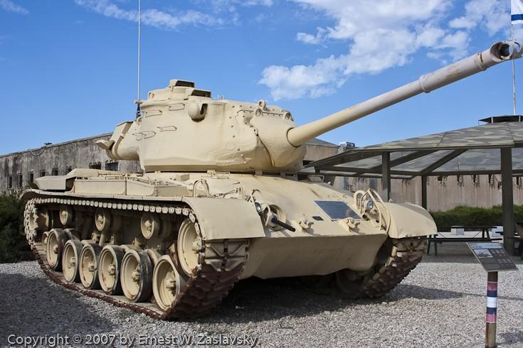 M47E2 Patton Tank