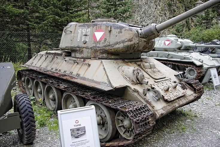 Austrian T34/85