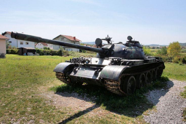 Russian T-55 tank.