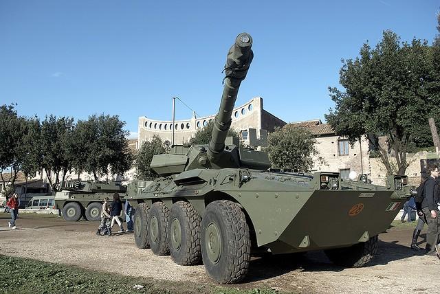 B1 Centauro wheeled tank destroyer