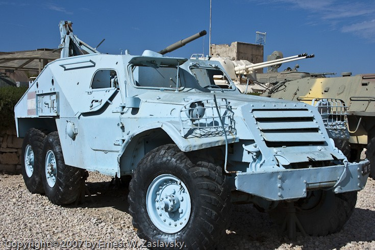 Military Vehicle Photos - BTR-152 RV Soviet built APV