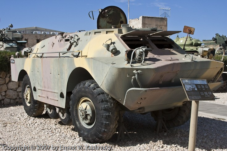 BRDM-2 Command Vehicle
