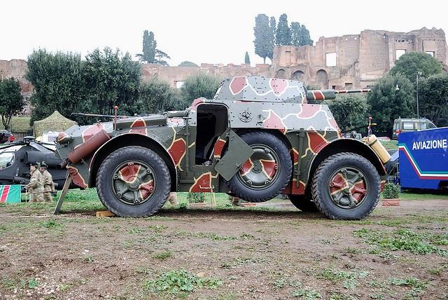 Autoblinda SPA 41/43 - 1943