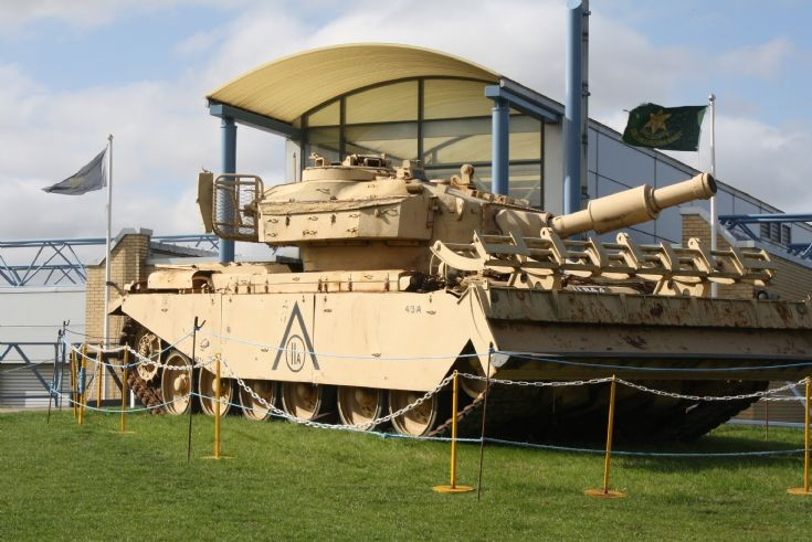 Centurion AVRE at Duxford