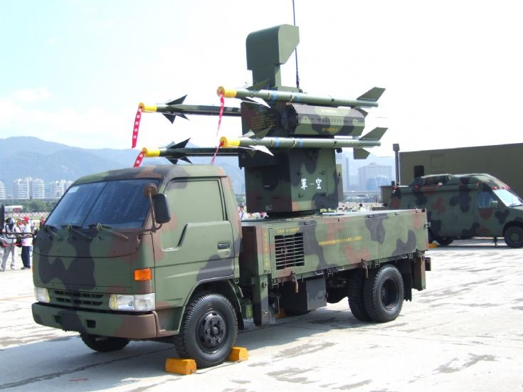 Antelope anti-aircraft missile