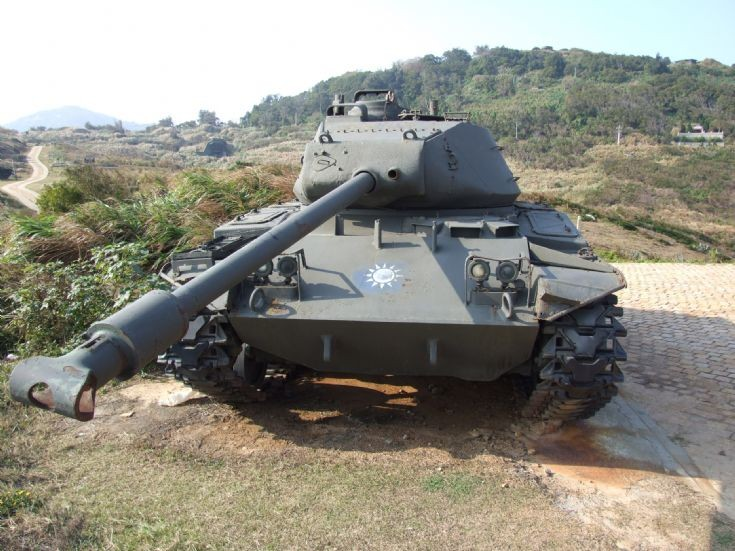 M-41 Walker Bulldog tank
